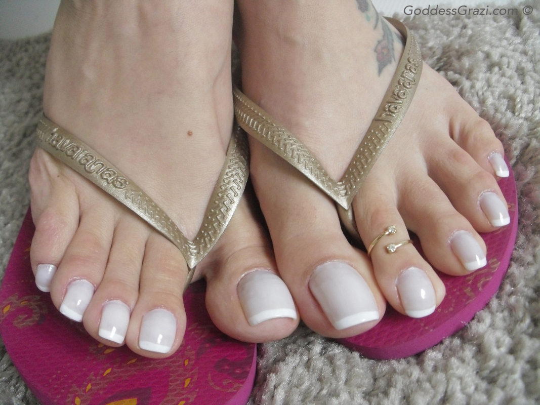 Feet in nylon video 21